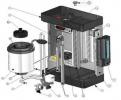 Парогенератор для Камеры ферментации Tecnomac